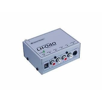 Omnitronic LH-040 voorversterker