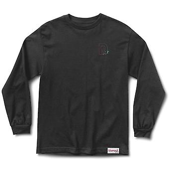 Diamond Supply Co Bandit L/S T-shirt Black