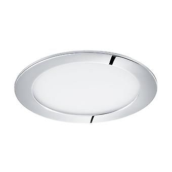Eglo LED Recessed Spotlight 170 Chrome 4000K, Fueva 1