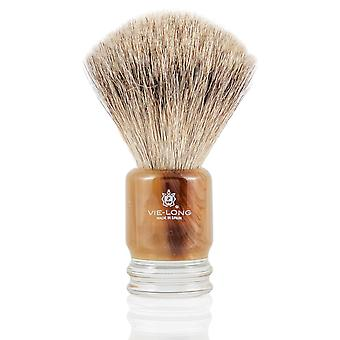 Vie-Long 16251 Grey Badger Shaving Brush