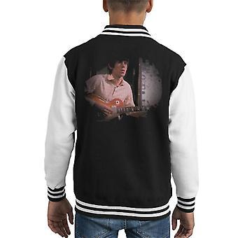 TV keer Keith Richards Les Paul Rolling Stones Kid's Varsity Jacket