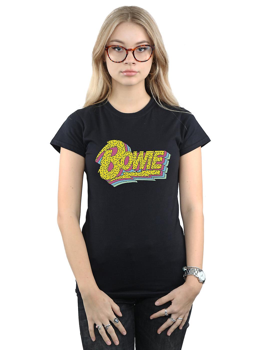 David Bowie Women's Moonlight 90s Logo T-Shirt