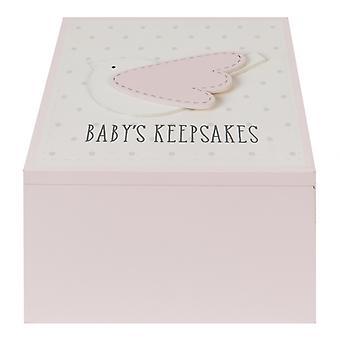 Petit Cheri Baby meisjes geheugen Keepsake Box