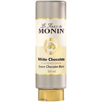 Monin White Chocolate Flavoured Sauce