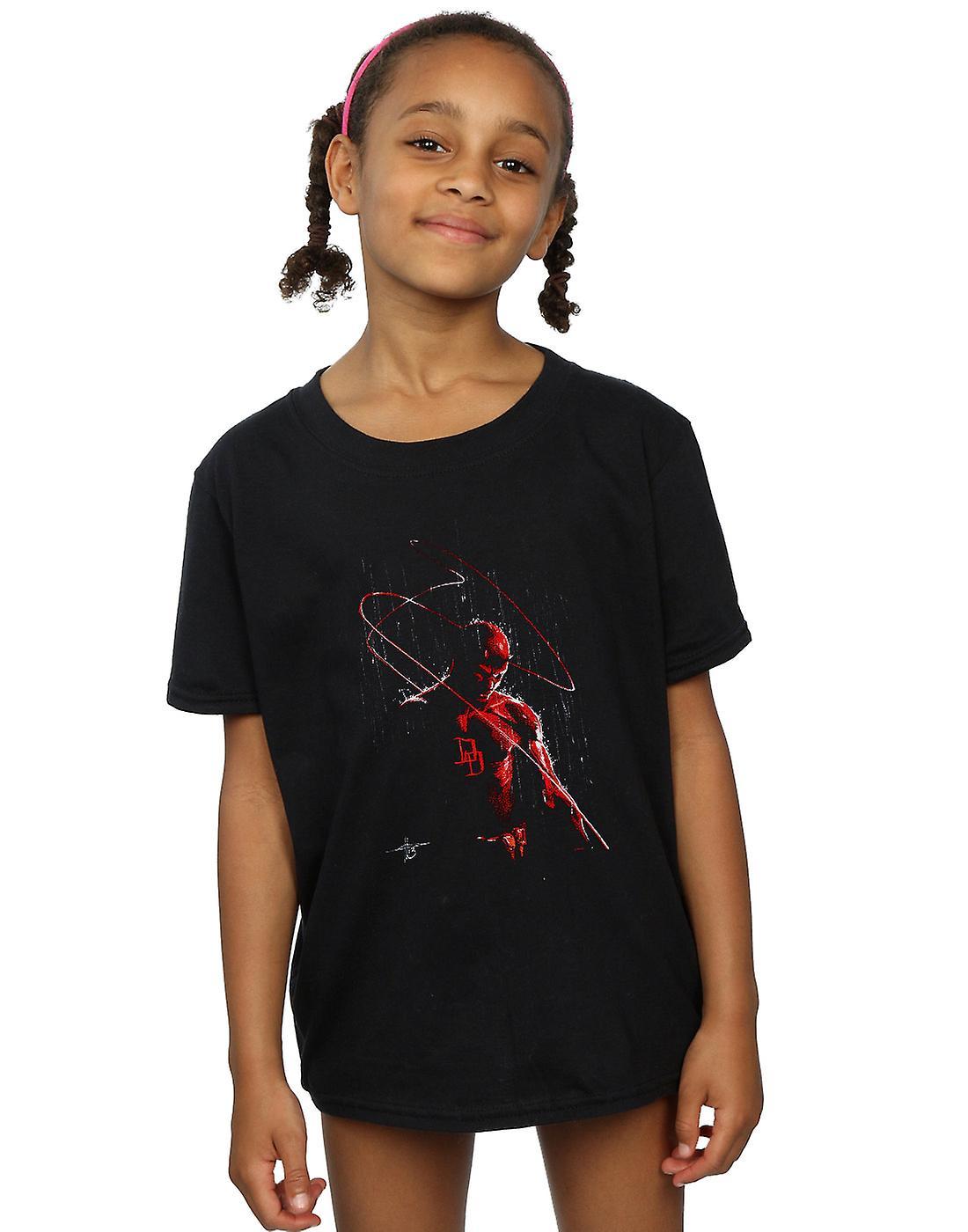 Marvel Girls Daredevil Painting T-Shirt