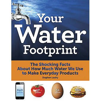 Uw Water voetafdruk - de schokkende feiten over hoeveel Water We gebruiken