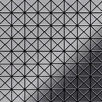 Metalowa mozaika ze stali nierdzewnej Alloy Deco-S-S-MM