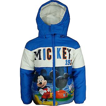 Disney Mickey Mouse Boys Hooded Winter Jacket