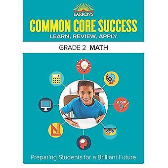 Barron's gemeenschappelijke kern succes Grade 2 Math werkmap (Core succes werkmap)