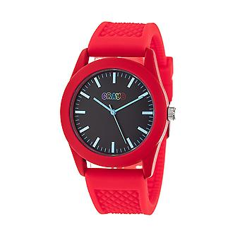 Crayo Storm Unisex Watch - Red/Black