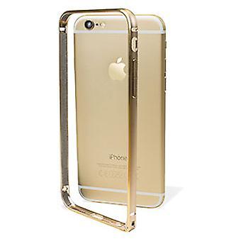 GOLD Super Slim Aluminum Bumper - iPhone 6/6s plus