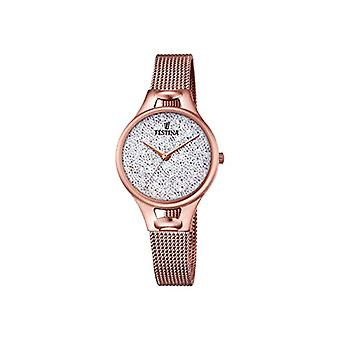 Festina ladies Quartz analogue watch with stainless steel band F20333/1