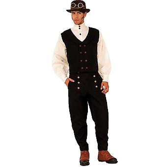 Steampunk stijl Vest