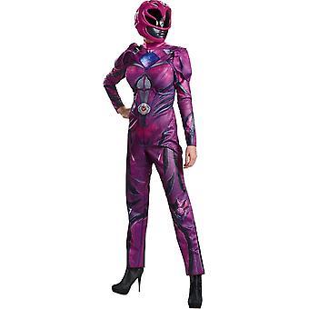 Nieuwe roze Ranger volwassen kostuum