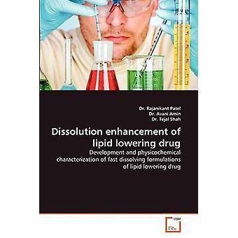 Mejora de disolución de drogas por Patel y Rajanikant hipolipemiantes
