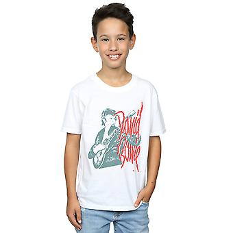 David Bowie Boys Mono Guitar T-Shirt