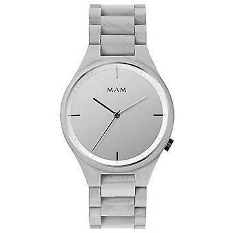 MAM Volcano Watch - Wood Grey/Silver