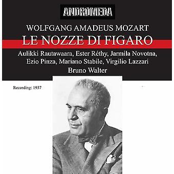 Mozart / Walter - Le Nozze Di Figaro: importación de Estados Unidos Rautawaara [CD]