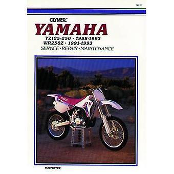 Yamaha YZ125-250 - 1988-93 and WR250Z - 1991-93 - Clymer Workshop Manu