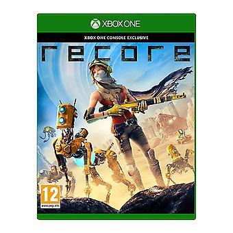RECORE Xbox One juego (caja alemana-multi idioma en el juego)