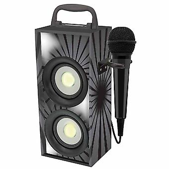 Lexibook Portable Karaoke With Microphone-Black (Modell No. BTP155BKZ)