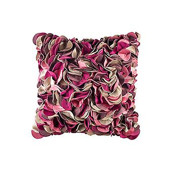Pink Champa Impossibly Pretty Throw Pillow Cover