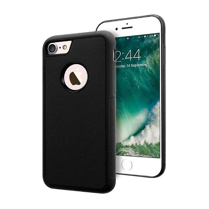 Stuff Certified® iPhone 8 - Anti Gravity Absorption Case Cover Cas Case Black