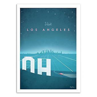 Art-Poster - Visit Los Angeles - Henry Rivers