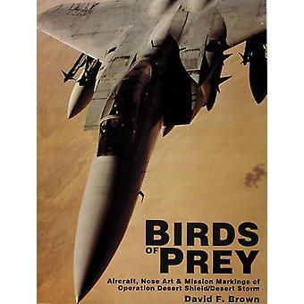 Birds of Prey - vliegtuigen - neus kunst en missie markeringen van bewerking
