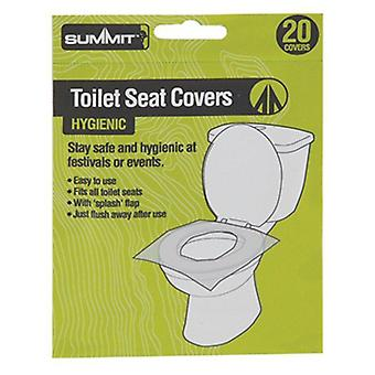 Summit Festival / Camping Toilet Seat Covers Pk20