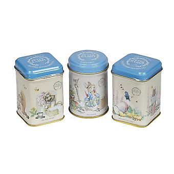 New english teas beatrix potter mini tea tin gift pack