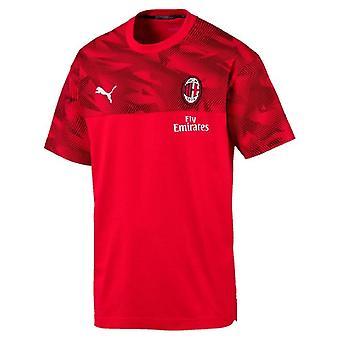 2019-2020 AC Milan Puma Casuals Tee (Rot)