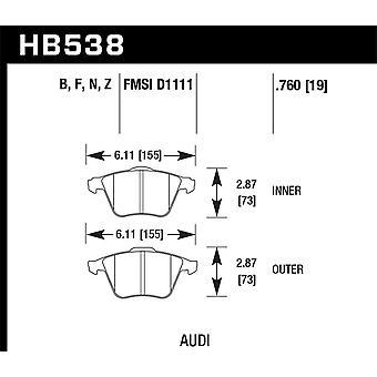 Hawk prestaties HB538B. 760 HPS 5,0