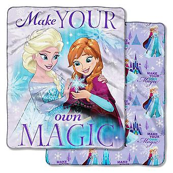 Double Sided Cloud Throws - Frozen - Make Magic New 50x60