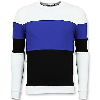 Sweater - Online Stripe Sweaters - Navy