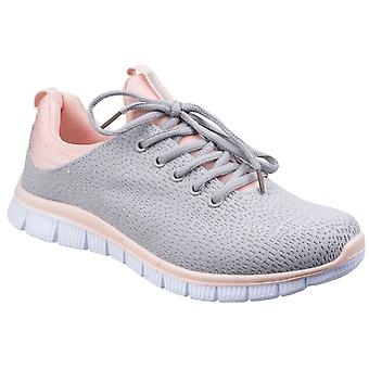 Fleet & Foster Womens Pompei Summer Shoe Grey