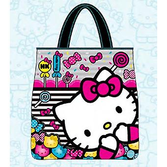 Tote Bag - Hello Kitty - Sanrio Cat Candies Anime Licensed santb0421
