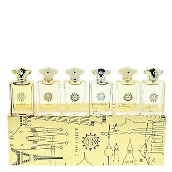 Amouage Classic Collection Hombre Miniatura Regalo Set 6 Piezas