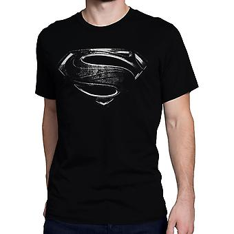Superman Silver Movie Symbol Homme-apos;s T-Shirt