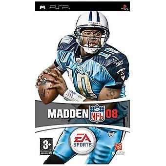 Madden NFL 08 (PSP) - New