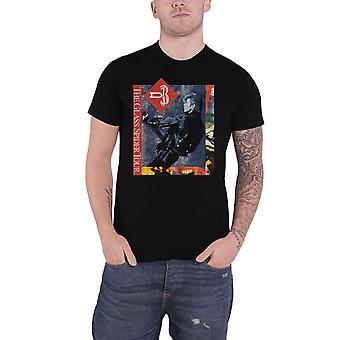David Bowie T shirt glas Spider Tour USA 1987 terug print officiële mens zwart