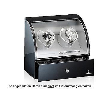 Designhütte watch winder Basel 2 LCD black 70005-48