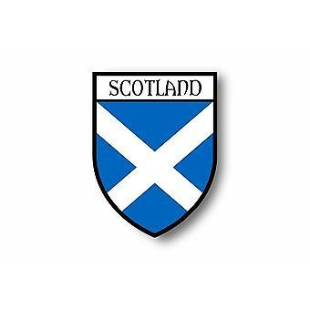Sticker Sticker Sticker Car Moto Blason City Flag Scotland Royal St Andrew