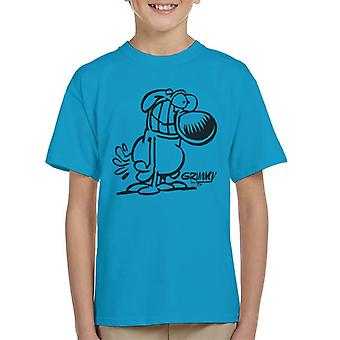Grimmy Classic Grin Kid's T-Shirt