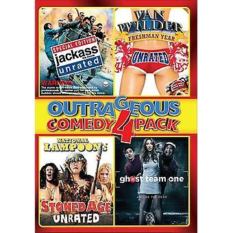 Escandalosa comedia Pack 4 [DVD] USA importar
