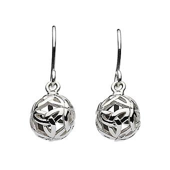 Kit Heath Heritage Heritage Ardena Knot Ball Oxidised Earrings 6331OX024