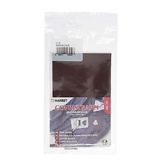 Marbet MB120.056 | Travaux de réparation tissu de coton | Fer-sur | 40 x 15cm | Naturel