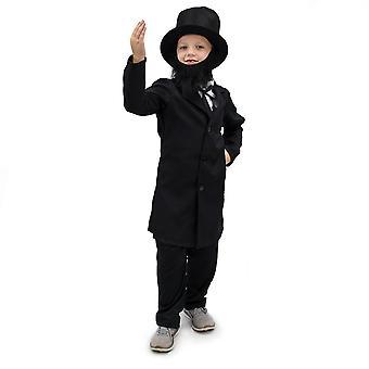 Cinstit Abe Lincoln copii ' s costum, 5-6