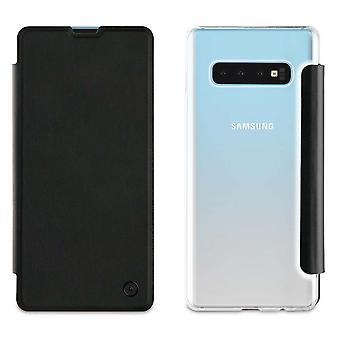 Galaxy S10 Plus Folio Noir Case - Muvit