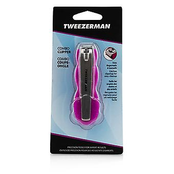 Tweezerman combo Clipper trim vingernagels & teennagels-# Pink--